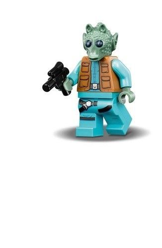 LEGO STAR WARS Han Solo MINIFIG new from Lego set #75205 Mos Eisley Cantina