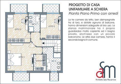 Progetto di case unifamiliari a schiera | Salvatore