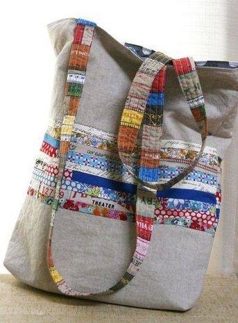 Super adorable bag. No pattern.