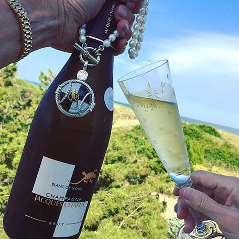 Thank you for sharing your tasting of a fabulous Blanc de Noirs from @jacqueschaput ! We love seeing your posts of Sherri's…