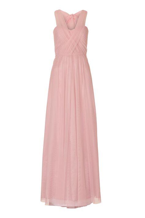 Wunderschones Tullkleid In Altrosa Von Vera Mont Mode Bosckens Abendkleid Langes Abendkleid Kleider