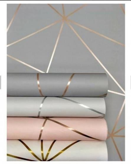 Bedroom Grey Gold Silver Pillows 52 Ideas Geometric Wallpaper Wallpaper Living Room Wallpaper Bedroom