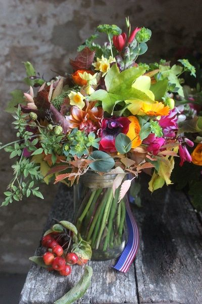 53 best October English country flower delivery and wedding flowers ...