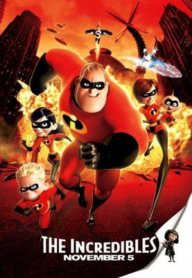Movie Posters The Incredibles The Incredibles 2004 Disney Movie Posters