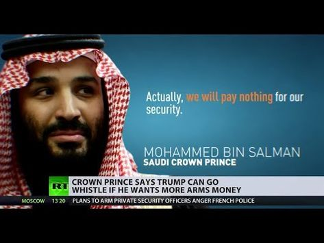 'We will pay nothing for our security': Saudi Arabia disregards Trump's warnings