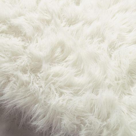 Tapis En Fausse Fourrure Blanc 80 X 200 Cm Ma Chambre Cosy