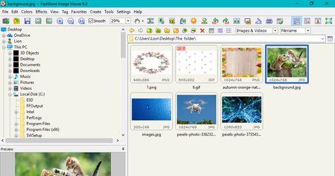 Faststone Image Viewer هو أداة رائعة سريعة ومجانية لتصفح وتحويل وتحرير الصور يطغى عليه طابع الإستقرار وسهولة الإستخدام يتوف Color Effect Desktop Images Image