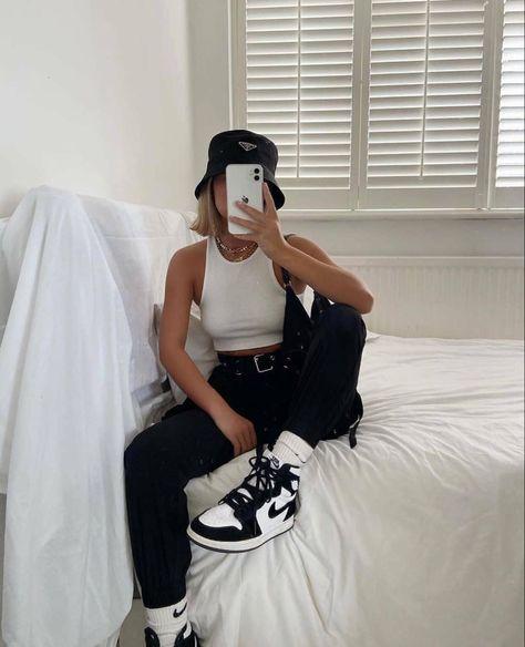 64 idées de Air Jordan outfit en 2021 | tenues mode, mode ...