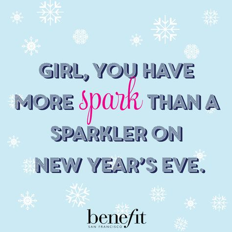 Stay bright, gorgeous ;) #benefitbeauty