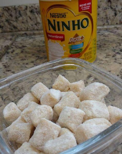 Balas Gourmet De Leite Ninho Receita Bala Gourmet Receitas E