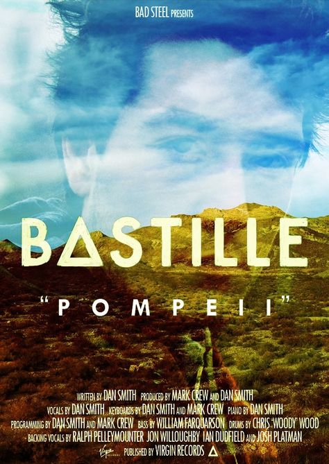 Love these posters :)    Bastille - Pompeii