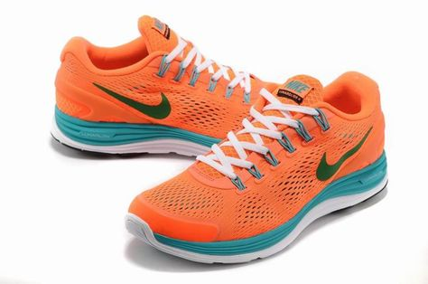 new style 66e88 f8024 Nike Lunar Glide +4 Womens Shoes Orange Best To Buy