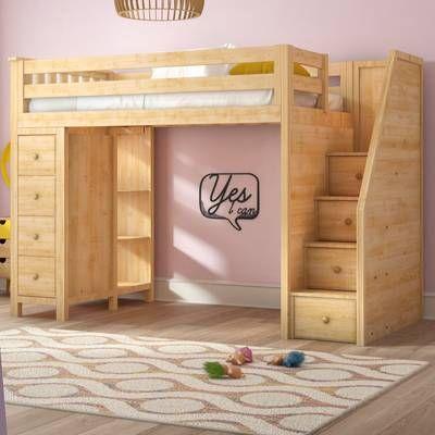 Ayres Twin Loft Bed Twin Loft Bed Loft Bed Kids Loft Beds