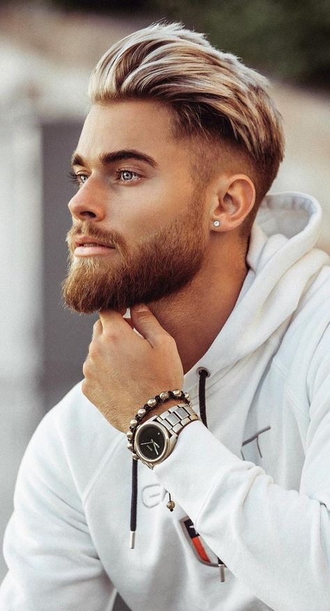 The Best Medium Length Hairstyles Haircuts for Men: The Best Medium Length Hairstyles Haircuts For Men. The Best Medium Length Hairstyles Haircuts For Men. Medium Beard Styles, Beard Styles For Men, Medium Hair Cuts, Hair And Beard Styles, Short Hair Cuts, Curly Hair Styles, Short Hair Styles Men, Mens Hair Medium, Men Short Hair