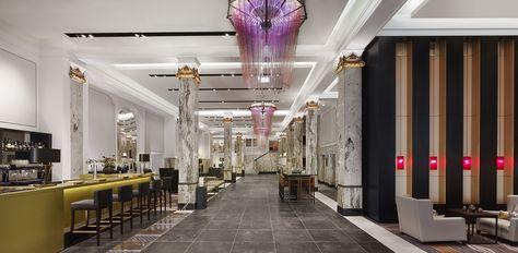 Modern Theatre Lobby Interiors Google Search Hotels Design Hamburg Boutique Hotel
