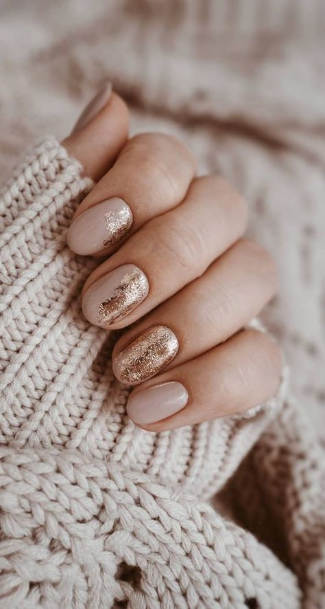 28 Must Try Fall Nail Designs and Ideas – Page 3 of 28 – newyearlights. com – fall nails, fall nails fall nails coffin, fall nails colors, fall nails pinteres – 28 Must Try Fall Nail Designs and Ideas – Page 3 of 28 – newyearlights. com – fall … Gold Nails, My Nails, Tips For Nails, Nail Tips, S And S Nails, Nagel Hacks, Nagellack Trends, Short Nails Art, Short Gel Nails