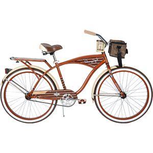 26 Huffy Panama Jack Men S Cruiser Bike Root Beer Walmart Com