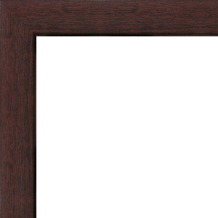 Solid Wood Photo Frame 12x16 12 X 16 Dark Walnut 323 Walmart Com Wood Photo Frame Wood Framed Mirror Picture Frames
