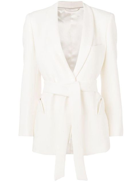 Blazé Milano belted blazer - Neutrals