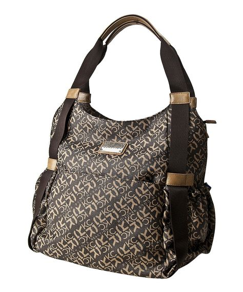 1af1d190d3983 Look at this Kenneth Cole Reaction Chocolate Brown Diaper Bag on #zulily  today!