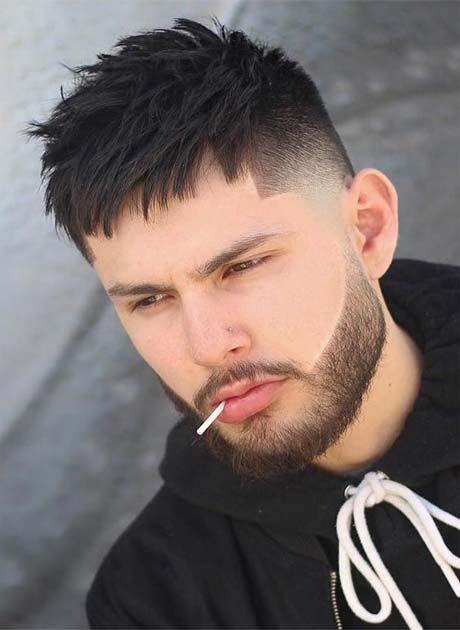 Bald Fade With Textured Choppy Men Hairs 2019 | Haircuts ...