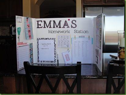 27 Ideas Diy Desk For Kids Girls Homework Station For 2019 Kids Homework Station, Homework Ideas, Desk Ideas, Homework Organization, Organizing Ideas, Learning Stations, Learning Activities, Kid Desk, Home Learning