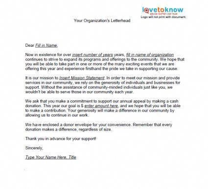 Donation Letter Fundraising Writngadonationletter Fundraising