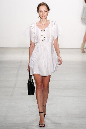 Runway Report NYFW   Spring 2017 RTW   Marissa Webb   White linen mini dress   The Luxe Lookbook