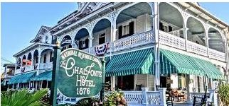 This Is My Ideal Hotel For Hernando Beach Florida I Love The Veranda The Awnings And The Old Time Look And Cape May Hotels Romantic Beach Getaways Cape May