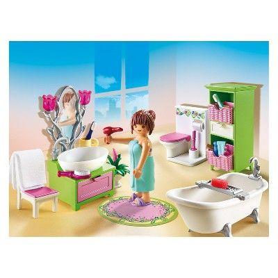 Playmobil Vintage Bathroom Playset Playmobil Kids Toys Doll Toys