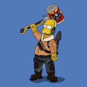 Homer Simpson As The Fortnite Raptor Skin Homer Simpson Simpsons Art Fortnite