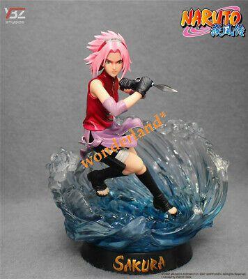Statue Figure Toy No Box Anime Naruto Shippuden Gals Haruno Sakura Splash Ver