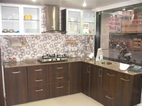 L Shaped Modular Kitchen Designer In Nagpur  Call Nagpur Kitchens Impressive Kitchen Trolley Designs Pune 2018