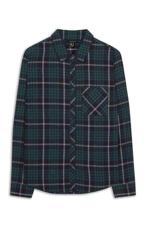 Groen Geruit Overhemd.Primark Groen Geruit Overhemd Things To Wear