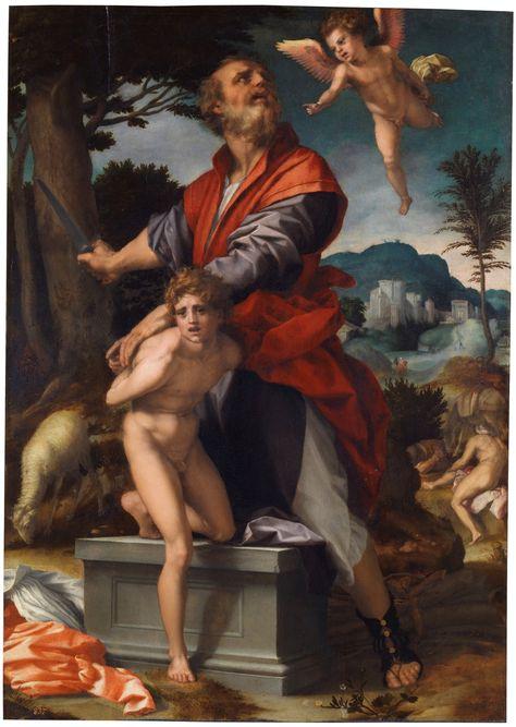 The Sacrifice Of Isaac El Sacrificio De Isaac Ca 1528