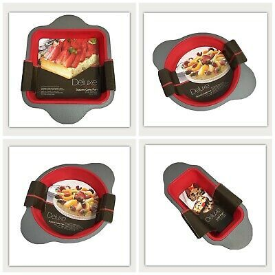Details About New Silicone Bakeware Set 4 Piece Professional Non