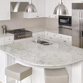 Allen Roth Grey Current Granite Kitchen Countertop Sample At