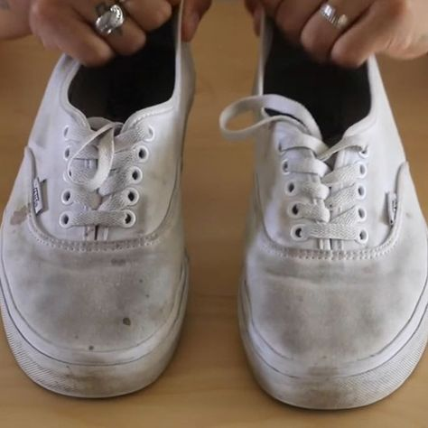 How To Clean Shoes White Shoes or Vans Simple!