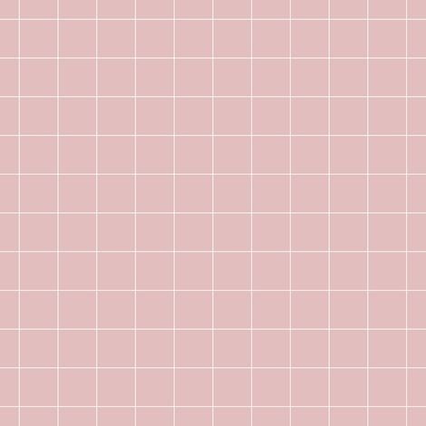 pale pink grid fabric by pencilmein on Spoonflower - custom fabric