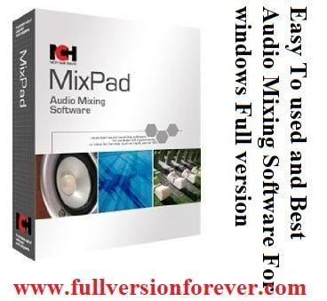 mixpad audio mixer crack torrent
