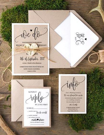 Einladungskarten Rustikale Hochzeitseinladungen 20 Stck 01acgz Ein Desig Barn Wedding Invitations Calligraphy Wedding Invitation Wedding Invitations Rustic