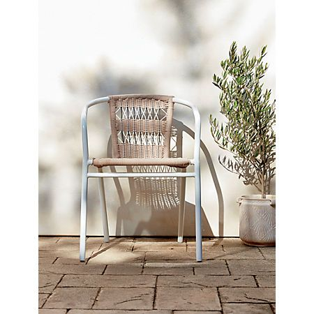Rex Open Weave Chair Chair Outdoor Dining Chair Cushions