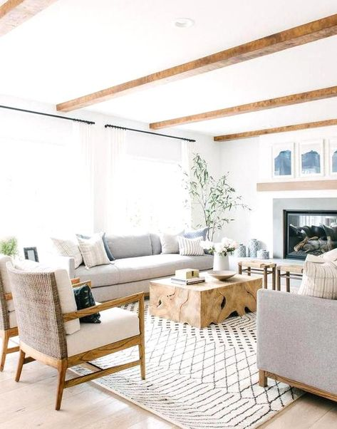 My Living Room, Home And Living, Living Room Decor, Living Spaces, Modern Living, Bedroom Decor, Cozy Living, Style At Home, Transitional Decor