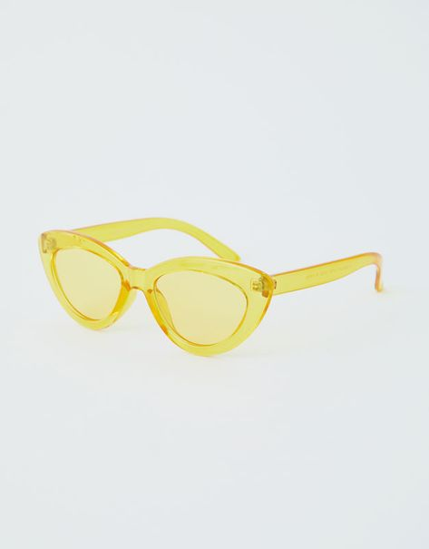 f92d45893671 Przezroczyste okulary przeciwsłoneczne cat eye – PULL&BEAR