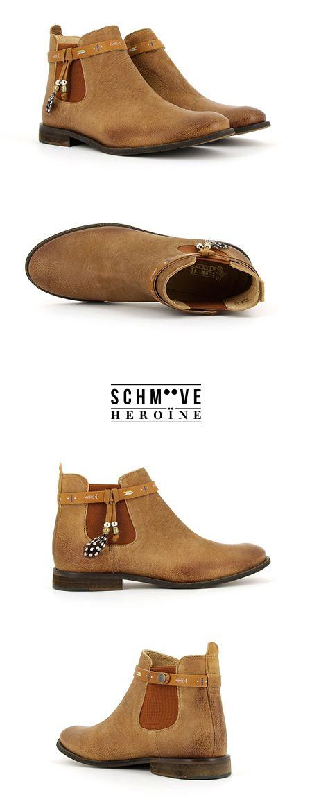 Horse Jodpur Boots - Collection printemps été 2015 - Chaussures Schmoove Femme