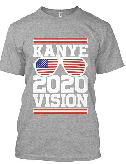 Kanye For President 2020 Election Candidate Men S Unisex Black T Shirt S 6xl Ebay In 2020 T Shirts S Black Tshirt T Shirt