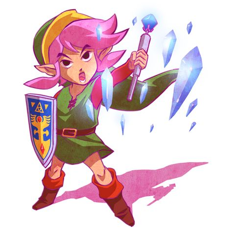 Link Ice Rod By Zebes On Deviantart With Images Zelda Art