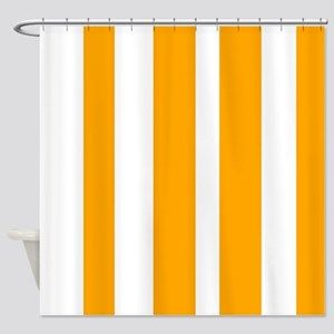 Lyingcat Mug Curtains Striped Shower Curtains Vintage Shower