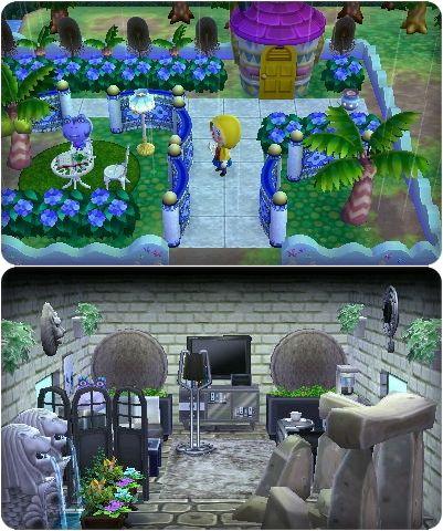 Train Station Animal Crossing Happy Home Designer 2 AC Happy - home design game
