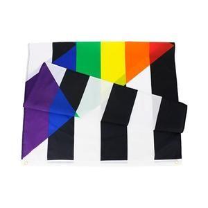 5ft x 3ft Straight Ally Pride Flag